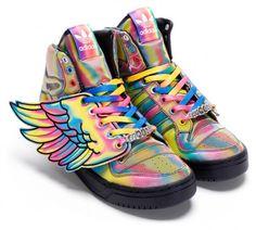 best website 6da5c f10ce Jeremy Scott x adidas Originals by Originals SpringSummer 2010 Footwear  Preview Cute Sneakers,