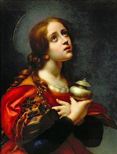 Artemis Dreaming, Mary Magdalene,Galleria degli Uffizi, Florence,...