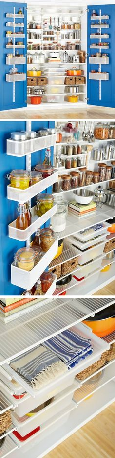 Find This Pin And More On Elfa Pantry By Containerstore.