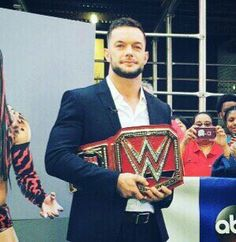 1st University Champion Finn Balor 8/21/16