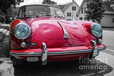 Classic Porsche - photography by Edward M. Fielding