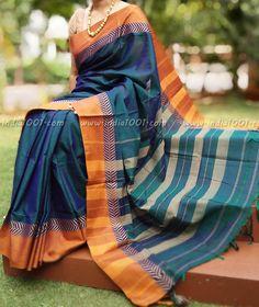 Elegant Woven Handloom Cotton Saree Indian Attire, Indian Wear, Indian Outfits, Indian Silk Sarees, Indian Beauty Saree, Traditional Sarees, Traditional Outfits, Formal Saree, Simple Sarees
