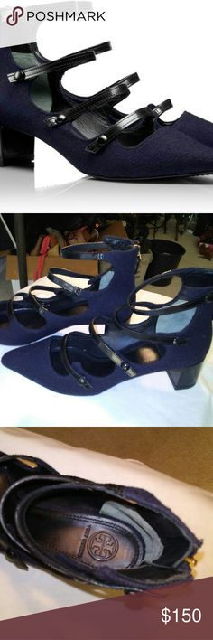 Tory Burch New no box Barnette pump that is sold out online at tory burch website. Tory Burch Shoes Heels