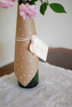 polka dot Mother's Day DIY // Lauren Elise Crafted