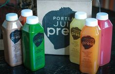I did this for three dats between Christmas and New Years. Loved it! Craving more juice. Seasonal juices by Portland Juice Press.