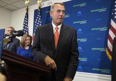 Boehner ready to let funding lapse for Homeland Security agency - REUTERS #Boehner, #Politics