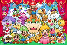 The whole Paper Mario crew! It's soooooooo cute!!!