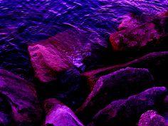 Purple Rocks by Blank Is Art, via Flickr