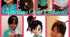 DIY Homemade Costume for Vanellope Von Schweetz, Fix-It Felix Jr, Wreck It Ralph characters - Disney Cosplay