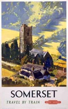 SOMERSET British Railways, Railway Posters4