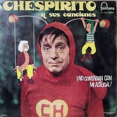 His popular sketch comedy show Chespirito debuted in 1968, that spawned his now famous characters like El Chavo and El Chapulin Colorado.