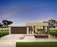 single storey flat roof house plans in south africa - Google Search ...