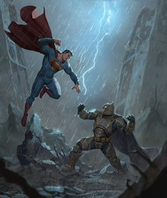 Batman V Superman fan Art , Iqnatius Budi on ArtStation at https://www.artstation.com/artwork/oWdOw