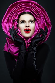 Anya Caliendo Couture Millinery Atelier, S/S 2014. #passion4hats