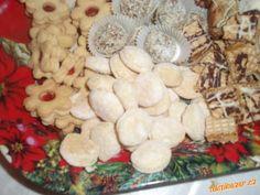 ++ VÝBORNÉ OCTOVÉ CUKROVÍ ++ Czech Recipes, Russian Recipes, Christmas Cookies, Stuffed Mushrooms, Vegetables, Pastries, Breakfast, Sugar, Food