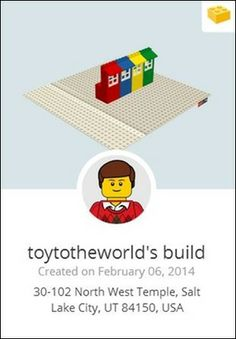 Build with Chrome - a free project where you can virtually build with LEGOS!
