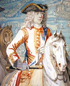 Duke of Marlborough at the Battle of Oudenarde June 1708 in the War of the Spanish Succession: Blenheim Palace Tapestry Iphone App, Textile Tapestry, Tapestries, Severn Valley, History Of England, Blenheim Palace, French Army, Herzog, Louis Xiv