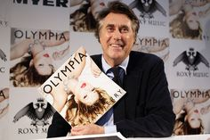 Bryan Ferry Book and cd signing Myer- credit Andrew Macmanus, Eva Rinaldi Photography