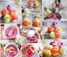 gidep: Pár tipů na barvení vajíček