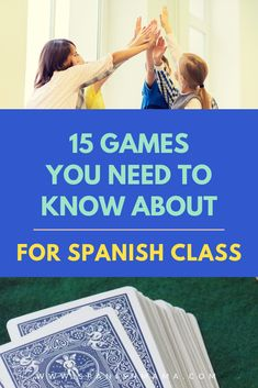 Find the BEST games to play in Spanish class! This list of fun, low-prep games deliver lots of comprehensible input, while engaging the whole class. Also includes tons of videos to make the games easy to understand and use starting tomorrow! Spanish Games, English Games, Spanish 1, Spanish Lessons, How To Speak Spanish, Learn Spanish, Learn French, French Lessons, Spanish Classroom Activities