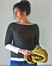 Ravelry: Faro Pullover pattern by Amy Christoffers