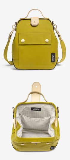 Moss crossbody bag. It's like a fancy backpack