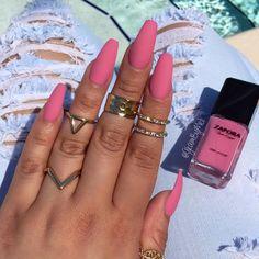 A little Matte Pink for the summer