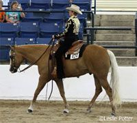 Horsemanship How-to: Sit the Jog Better  Here's how to get a smooth ride on your western pleasure horse.