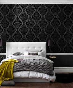 Kinky Vintage Naughty Noir Wallpaper by Graham and Brown