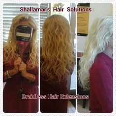 Braidless Hair Extensions Orlando