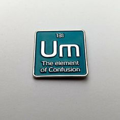 Display your passion for the sciences with the like magic but real enamel pin. This science lapel pin is the perfect gift for science teachers, scientists or just your general science nerd. You can wear your science enamel pin badge on a bag, jacket, lapel, pin board, or use it as a hat pin. I incorporated a periodic element into the design to convey my love of science in an aesthetically pleasing and funny way. This is a part of my science pin set, check out my shop to see my other science…