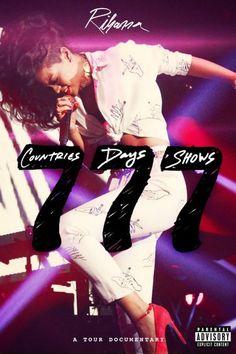 Rihanna 777 Documentary: 7 Countries, 7 Days, 7 Shows (DVD) Rihanna Fenty, Rihanna Tour, Hip Hop Rap, Pop Singers, Show, New Music, Movies Online, Movie Tv, Shopping