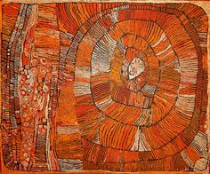 Naata Nungurrayi, Untitled,183 x 153 cm., 2006. Papunya Tula Artists.