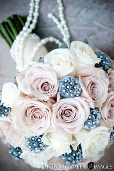 roses + pods + pearls
