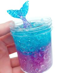 Buy Mermaid Mud Mixing Cloud Slime Toy, Slime Putty Scented Stress Kids Clay Toy for Happy Easter Gift Stress Relief Toys (Multicolor) Le Slime, Slimy Slime, Slime Toy, Slime Craft, Fish Bowl Slime, Food Slime, Pretty Slime, Mermaid Slime, Craft Ideas