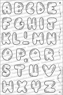 Balloon alpha the sassyclub doodle alphabet, hand lettering alphabet, doodl