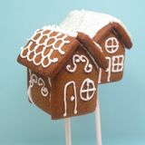 Gingerbread House Cookie Pops + Winner of Williams Sonoma Giveaway
