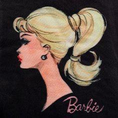 Barbie Paper Dolls, Vintage Paper Dolls, Vintage Barbie Dolls, Vintage Art, Barbie Tattoo, Art Studio Storage, Barbie Images, Barbie Princess, Barbie Accessories