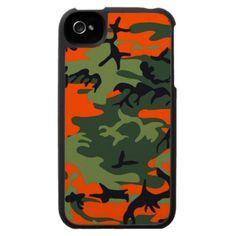 Camo Orange Speck Case iPhone 4