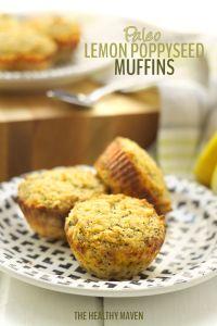 Paleo Lemon Poppyseed Muffins Recipe