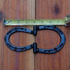Horseshoe small HINGES hardware from pony by BlacksmithCreations, $77.77