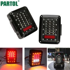 Partol Car Integrated LED Tail Light Running Brake Light Reverse Backup Turn Signals Euro Version For Jeep Wrangler JK 2007-2015 |  Buy online Partol Car Integrated LED Tail Light Running Brake Light Reverse Backup Turn Signals Euro Version For Jeep Wrangler JK 2007-2015 only US $129.99 US $84.49. We give you the information of finest and low cost which integrated super save shipping for Partol Car Integrated LED Tail Light Running Brake Light Reverse Backup Turn Signals Euro Version For…