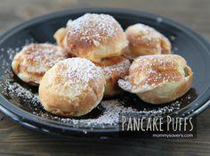 Pancake Puffs - Danish Aebelskivers are super frugal and a fun breakfast