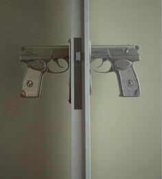 gun door knobs