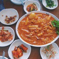 Tokbokki tại Nhà Hàng Việt - Hàn So Baek San