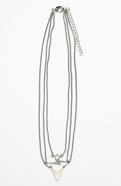Stephan & Co. Layered Chain Necklace (Juniors) available at #Nordstrom