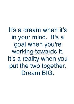 Dream Big Quotes | 42 Best Dream Big Quotes Images On Pinterest Thinking About You