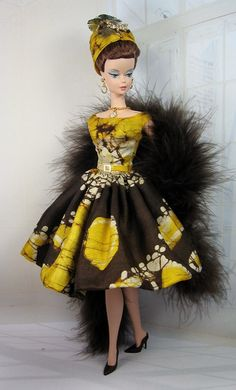 Island Queen for Silkstone Barbie and Victoire by MatisseFashions