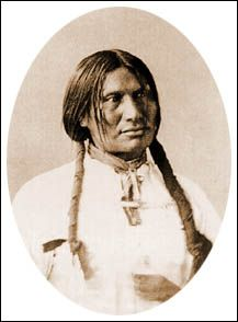 Chief Bigfoot from the Lakota tribe. Victim of the massacre at Wounded Knee where out of 250 Indians, 200 were killed, 62 of them mothers and children.