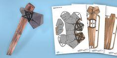 stone age crafts templates - Google-Suche